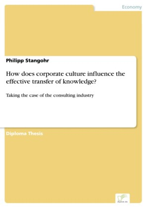 How does corporate culture influence the effective transfer of knowledge?