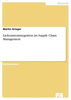 Lieferantenintegration im Supply Chain Management