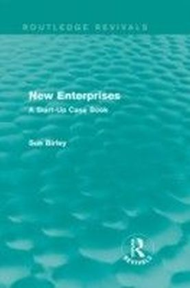 New Enterprises: A Start-Up Case Book