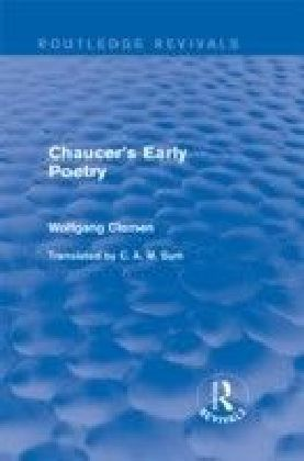Chaucer's Early Poetry