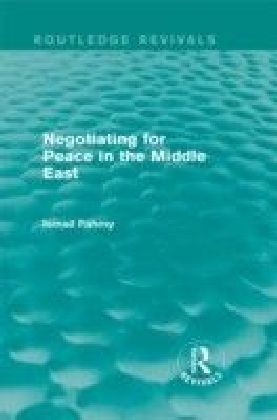 Negotiating for Peace in the Middle East