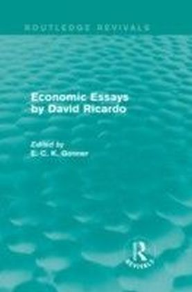 Economic Essays by David Ricardo