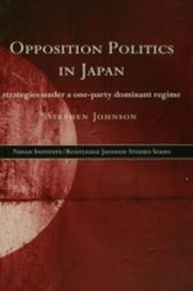 Opposition Politics in Japan