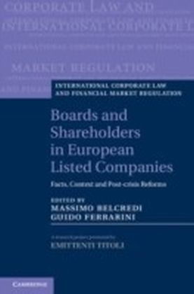 Boards and Shareholders in European Listed Companies