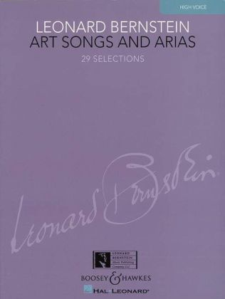 Art Songs and Arias, hohe Stimme und Klavier