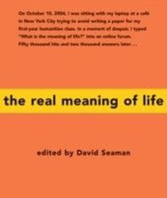 Real Meaning of Life