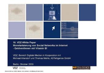 Monetarisierung von social Networks im Internet