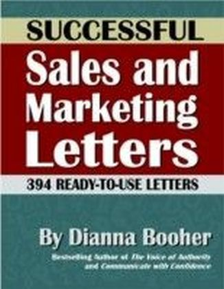 Successful Sales and Marketing Letters