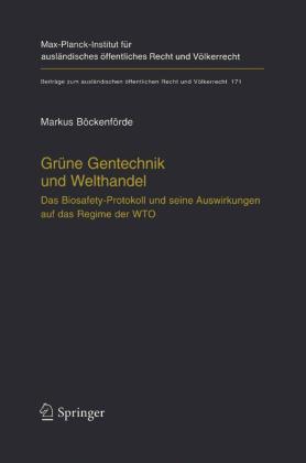 Grüne Gentechnik und Welthandel