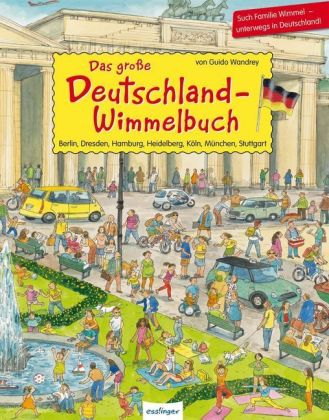 Das große Deutschland-Wimmelbuch