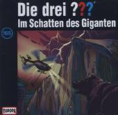 Die drei ??? - Im Schatten des Giganten, 1 Audio-CD Cover