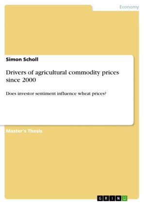 Drivers of agricultural commodity prices since 2000