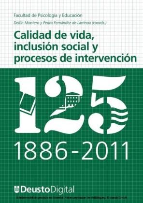 Calidad de vida, inclusión social y procesos de intervención