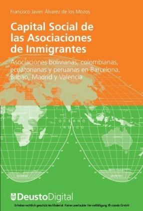 Capital Social de las Asociaciones de Inmigrantes