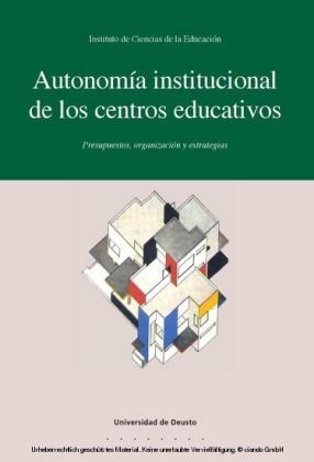 Autonomía institucional de los centros educativos