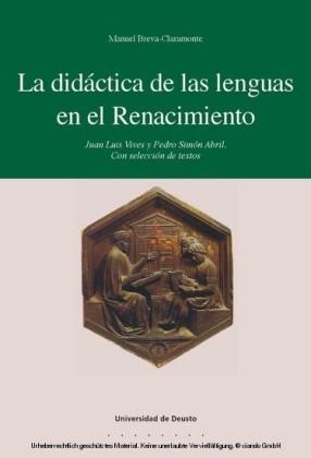 La didáctica de las lenguas en el Renacimiento
