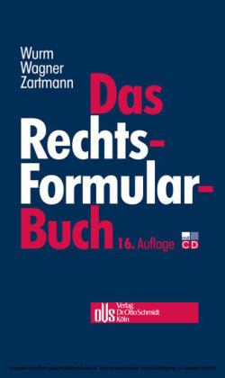 Das Rechtsformularbuch