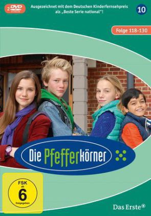 Die Pfefferkörner, 2 DVDs