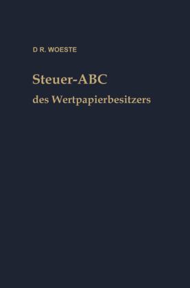 Steuer-ABC des Wertpapierbesitzers