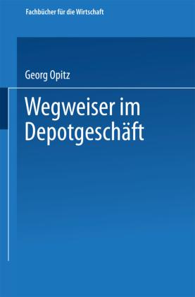 Wegweiser Im Depotgeschäft Shop Mediengruppe Deutscher Apotheker