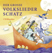 Der große Volksliederschatz, 4 Audio-CDs Cover