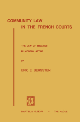 Community Law in the French Courts