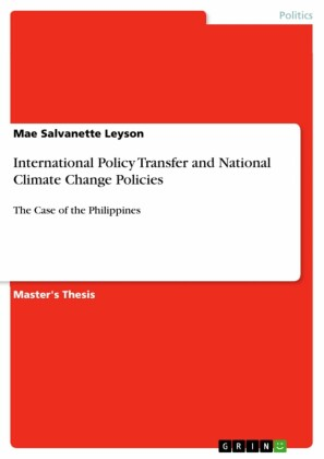 International Policy Transfer and National Climate Change Policies