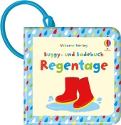 Buggy- und Badebuch: Regentage Cover