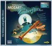 Die Zauberflöte, Audio-CD Cover