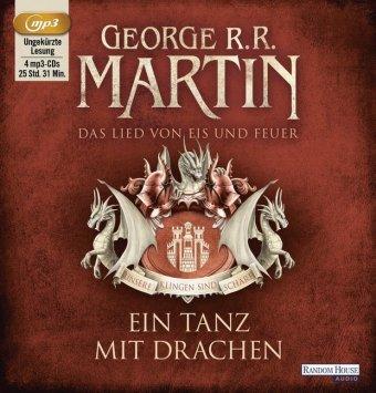 Das Lied von Eis und Feuer - Ein Tanz mit Drachen, 4 Audio-CD,