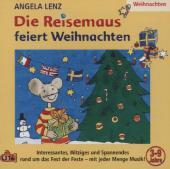 Die Reisemaus feiert Weihnachten, 1 Audio-CD Cover