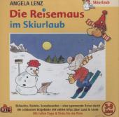 Die Reisemaus Im Skiurlaub, 1 Audio-CD Cover