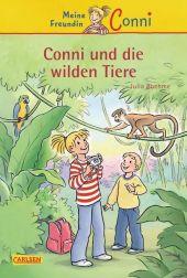Meine Freundin Conni, Conni und die wilden Tiere Cover