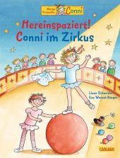 Meine Freundin Conni, Hereinspaziert! Conni im Zirkus Cover