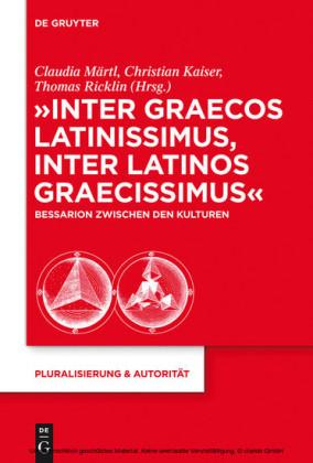 'Inter graecos latinissimus, inter latinos graecissimus'