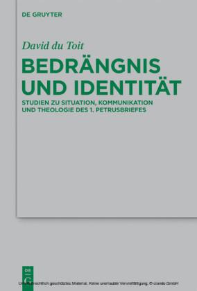 Bedrängnis und Identität