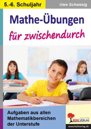 Mathe-Übungen für zwischendurch / 5.-6. Schuljahr
