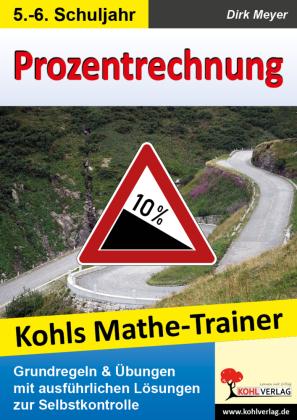 Kohls Mathe-Trainer - Prozentrechnung