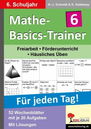 Mathe-Basics-Trainer / Klasse 6