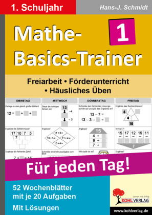 Mathe-Basics-Trainer / Klasse 1