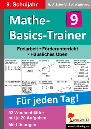 Mathe-Basics-Trainer / Klasse 9