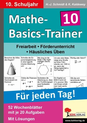 Mathe-Basics-Trainer / Klasse 10