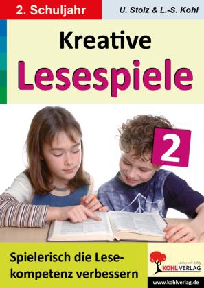 Kreative Lesespiele zur Verbesserung der Lesekompetenz / Klasse 2