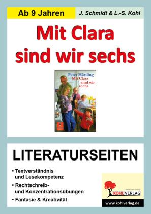 Mit Clara sind wir sechs - Literaturseiten