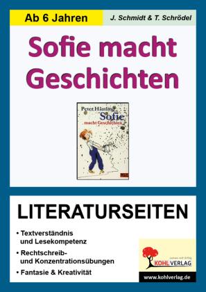 Sofie macht Geschichten - Literaturseiten