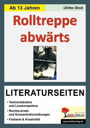 Rolltreppe abwärts - Literaturseiten