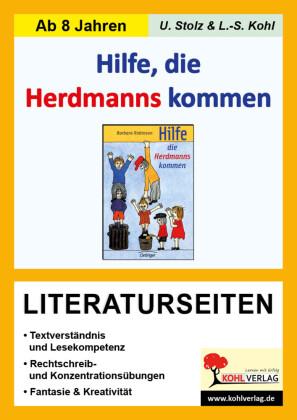 Hilfe die Herdmanns kommen - Literaturseiten