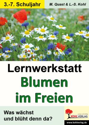 Lernwerkstatt Blumen im Freien