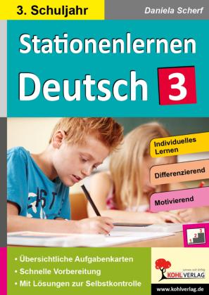 Kohls Stationenlernen Deutsch 3. Schuljahr