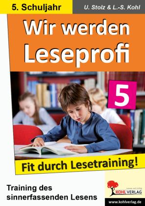 Wir werden Leseprofi / Klasse 5